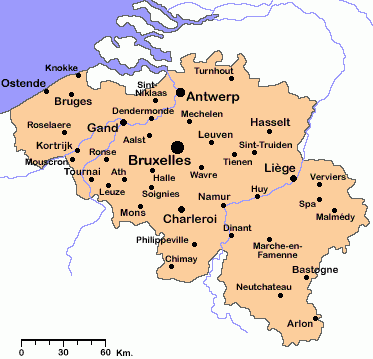 Commercial areas in Belgium Spanish Fashion in BeLux
